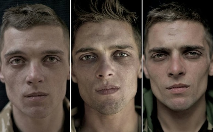 Дайны сүүдэр цэрэг эрсийн царайнд...
