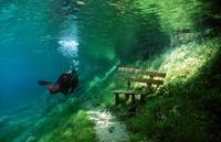 Австрийн усан доорх парк гайхалтай...