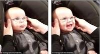 Бяцхан хүү анх удаа харааны шил зүүсэн нь