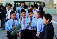 Сурагчдыг тээвэрлэх тусгай маршрутын автобус 11 чиглэлд үйлчилгээ үзүүлж байна