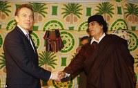 Тони Блэйр Ливийн удирдагч Каддафид анхааруулж байжээ
