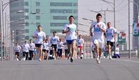 """""""Цэвэр агаар эрүүл амьдрал"""" марафон болж байна"""