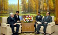 Э.Бат-Үүл тэргүүтэй төлөөлөгчдийг Ким Ён Нам хүлээн авч, уулзлаа
