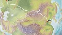 Москва-Бээжингийн хурдны төмөр зам Монголоор дайрах уу