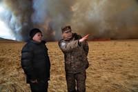 Монгол улсын ерөнхийлөгч Дорнод аймгийн Баян-Уул суманд ажиллалаа