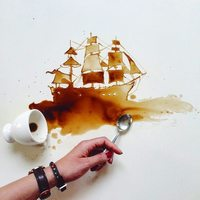 Кофены зураачийн бүтээлүүд алдаршив