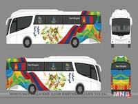 Монголын тамирчид автобус бас тогоочтойгоо