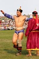 Монгол Улсын арслан Р.Пүрэвдагва: Манай Архангайнхан сайхан наадлаа. Тэр дунд миний амжилт бий