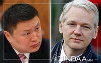 """Б.Хурц """"Wikileaks""""-ийн Жулиан Ассанжтай хамт хоригдож байжээ"""