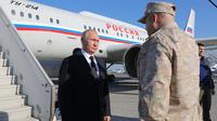 Путин Сирид анх удаа очлоо /фото/