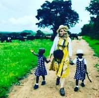 Мадонна хүүхдүүдийнхээ зургийг анх удаа олонд дэлгэв