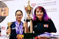 """В.Янжаа """"Ой тогтоолтын дэлхийн аварга шалгаруулах тэмцээн""""-ээс мөнгөн медал хүртжээ"""