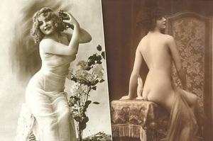 """Өнгөрсөн зууны """"эротик"""" зургууд"""