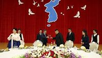 Ким Чен Ун, Мүн Жэ Ин нар хоёр Солонгосын шинэ ирээдүйг нээлээ