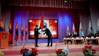 """Дорнод аймаг дахь """"Монгол цэргийн нэгдсэн холбоо""""-ны тэргүүнээр аймгийн засаг дарга М.Бадамсүрэн сонгогдлоо"""